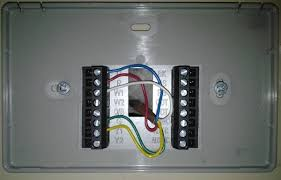 trane xl624 thermostat z wave world here is how the wires were landed on the furnace end