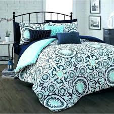 teal bed in a bag queen size amazing comforter sets kids bedding twin and brown
