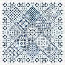 Blackwork Cross Stitch Charts Blackwork Panel 2 Pdf Chart Pattern Blackwork Cross