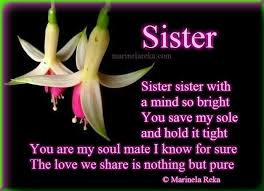 I Love You Sister Quotes Adorable Sister Love Quotes Poems Hover Me