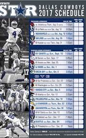 Dallas Cowboys 2018 Schedule Wallpaper 74 Images