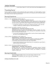 Resume For Newly Registered Nurse Sample Resume For Newly