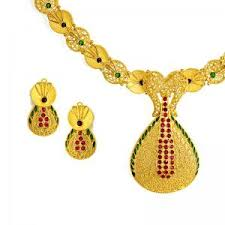 arush gold necklace 2698 5804