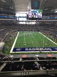 Dallas Cowboy Seating Chart New Stadium At T Stadium Section 349 Dallas Cowboys Rateyourseats Com