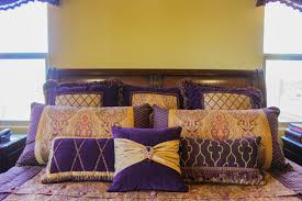 Purple And Gold Bedroom Purple And Gold Master Bedroom