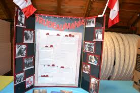 examples of poster board projects project photos delta surrey regional heritage fair