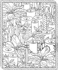 Small Picture Christmas Coloring Pages For Adults 2016 Dr Odd Christmas Coloring