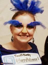 bird makeup and accessories twitter bird costume