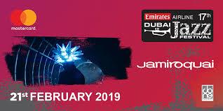 Dubai Jazz Festival 2019 Jamiroquai Buy Tickets To Dubai