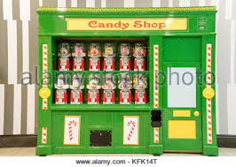Sweet Vending Machine Stunning Vending Machine With Candy Stock Photo 48 Alamy