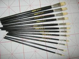 row pen oil painting pen single paint brush water chalk art supplies painting cleaning brush brush