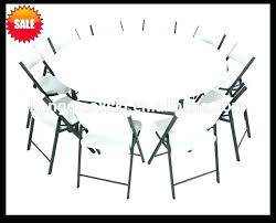 6 foot round tables 6 ft round tables endearing folding table with plastic foot lifetime dimensions