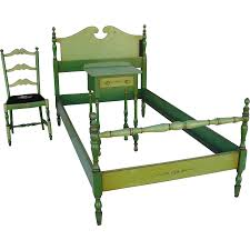 Lane Furniture Bedroom Sets Stickley Quaint American Furniture Hand Painted Bedroom Set From