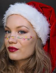 Lights For Makeup Tutorials Christmas Lights Makeup Charlotta Eve