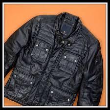 milestone german mens jacket black soft leather belstaff style s 52 l belstaff reliable retion
