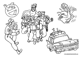 Small Picture Ghostbusters Coloring Pages AdultColoringPrintable Coloring