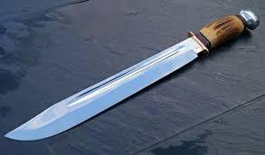 puma knife. puma fahrtenmesser big vintage scout-bowie-knife solingen huge large couteau cuchillo messer - youtube knife