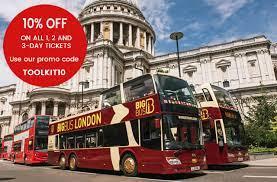 big bus london hop on hop off
