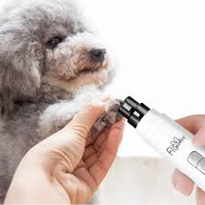 electric pet nail grinder ultra quiet with three ports electric dog nail trimmer long working time clipper paw nail for cat hamster small um dog