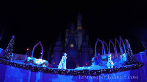Frozen Holiday Wish Castle Lighting Show A Frozen Holiday Wish Castle Lighting Show Watch Elsa Light