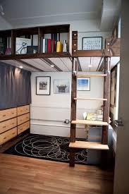 loft bed lighting. built in lighting underneath this bed illuminates the workstudy space beneath loft