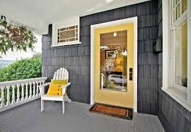 how to paint a metal door steel entry door colored yellow