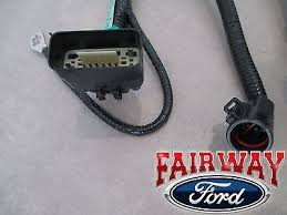 05 thru 07 f 150 oem genuine ford 7 pin trailer tow wiring harness 05 thru 07 f 150 oem genuine ford 7 pin trailer tow wiring harness