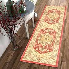 farmhouse runner rug well woven traditional medallion style rugs tan farmhou favorite neutral rugs finding the perfect one city farmhouse style door