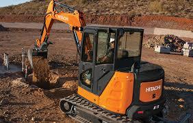 Compact Excavators Zx50u 5 Hitachi