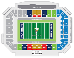 Fiu Football Stadium Seating Chart Tix National Bowl Game Info Site