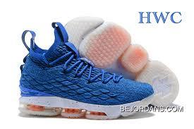 Lebron Shoe Size Chart Online Nike Lebron 15 Photo Blue Total Orange Basketball Shoes 2018