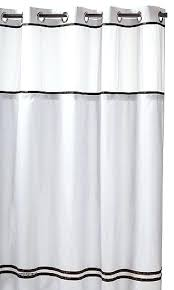 white hookless shower curtain shower curtains with snap on liner best of shower curtain with liner