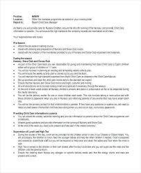 Child Care Provider Job Descriptions Unique Nanny Job Description