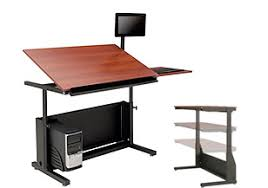 desktop computer furniture. Art/Drafting Tables Desktop Computer Furniture
