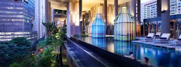 infinity pool singapore hotel. Infinity Pool Park Royal On Pickering Singapore Hotel