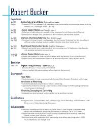 How To Layout Resume How To Layout A Resume Under Fontanacountryinn Com