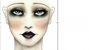 masquerade makeup creepy makeup
