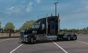 Ats Freightliner Coronado V3 1 35 X Download American Truck Simulator Freightliner Trucks
