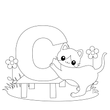 Free Printable Alphabet Coloring Pages Kids Free Printable