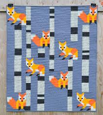 Fox Quilt Pattern