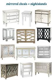 vegas white glass mirrored bedside tables. Mirrored Chests Bhg Vegas White Glass Bedside Tables A