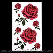 Tetování Barevné Tetovací Obtisky Růže 28 Kč Bazar Prodej