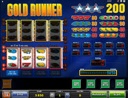 gold runner slot paytable reviewed
