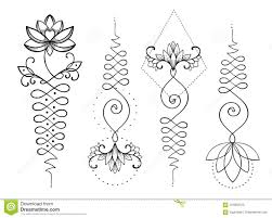 лотос и священная геометрия символ Unamole индусский премудрости и