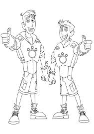 Coloring Pages Wild Kratts Coloring Pages Pbs Wild Kratts Coloring