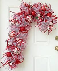 Candy Cane Wreath By Connieu0027s Designs  Christmas Decorating Ideas Candy Cane Wreath Christmas Craft