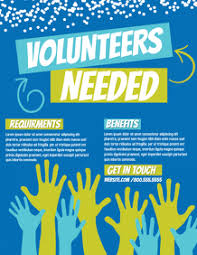 Volunteer Flyers Samples 170 Help Wanted Customizable Design Templates Postermywall