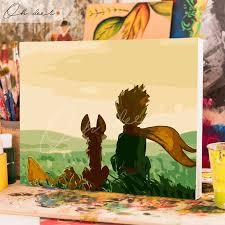 Tranh tô màu theo số CÓ KHUNG - Hoàng tử bé TCK0059 - Oh deer!