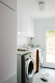 6 tags Modern Laundry Room with Built-in bookshelf, Manette 5
