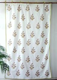 curtains country and s include partitioning fl block print grand f rules ascent cotton red indian block print curtains india